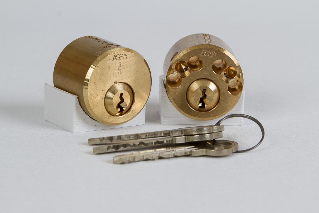 Bild av Assa låscylinderpar 712